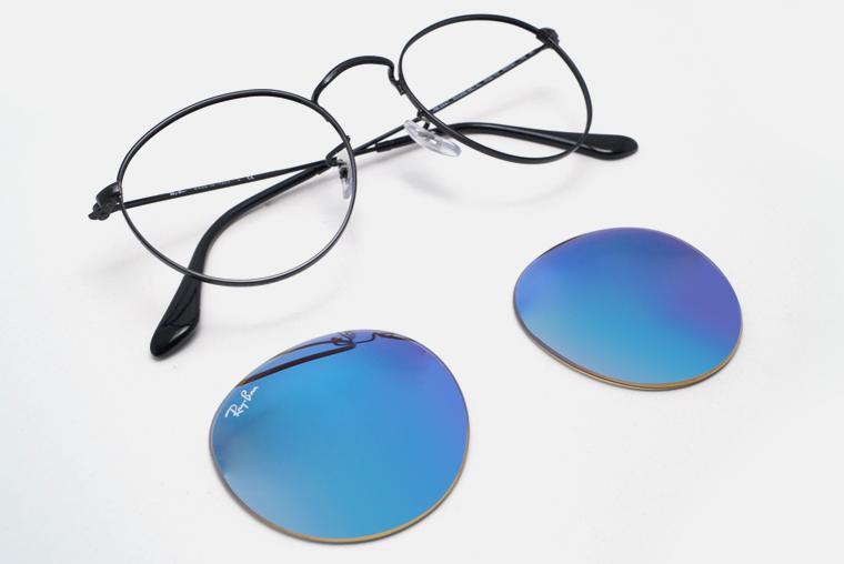Comment changer verre lunette soleil ray ban ?